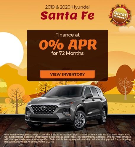 October 2019 and 2020 Santa Fe APR