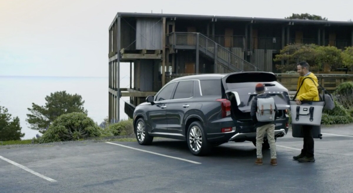 2020 Hyundai Palisade Hands-free Smart Liftgate with Auto Open