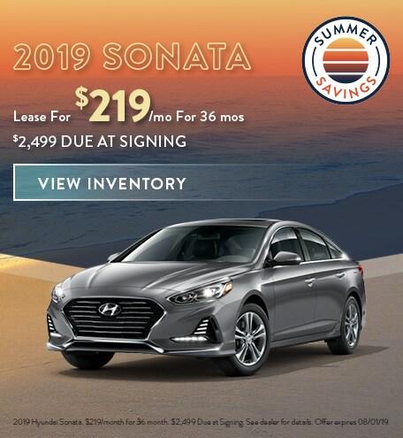 July 2019 Hyundai Sonata