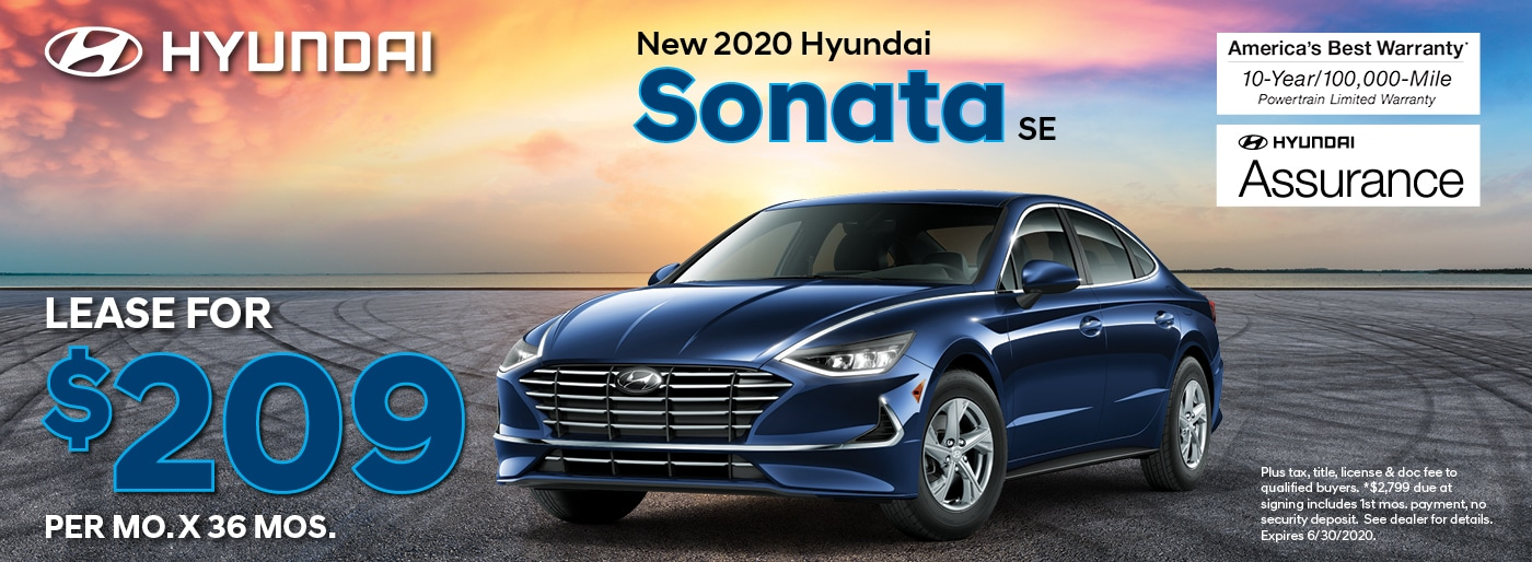 Sonata Lease Deal