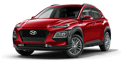 2020 Hyundai Kona SEL Plus model for sale at Hanford Hyundai dealership near Tulare