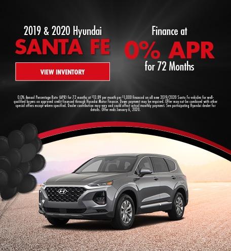 November 2019 & 2020 Santa Fe APR