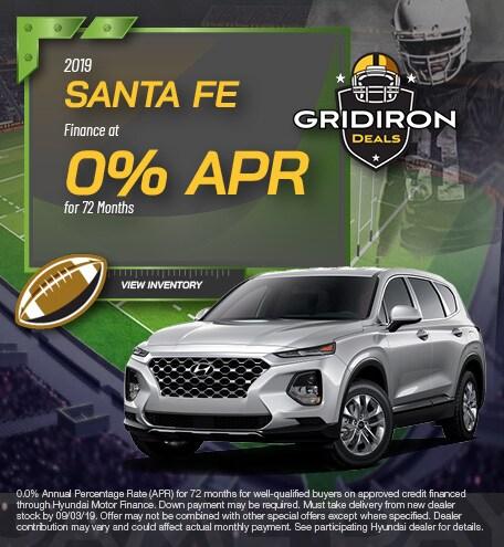 August 2019 Santa Fe Finance