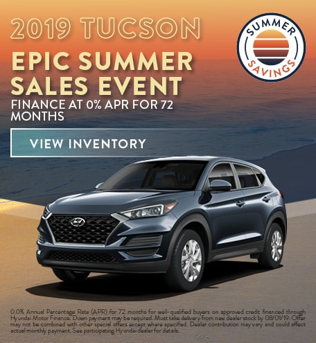 July 2019 Hyundai Tucson