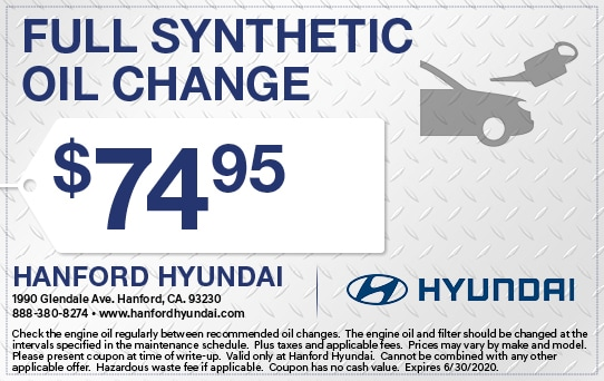 Synth Oil and Change