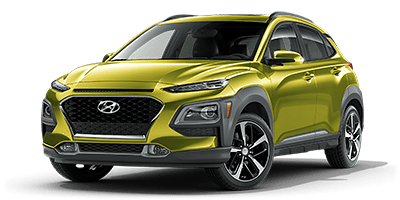2020 Hyundai Kona Limited model for sale at Hanford Hyundai dealership near Lemoore