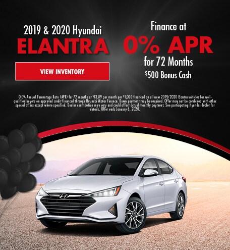 November 2019 and 2010 Elantra APR