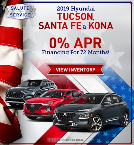 Tucson, Santa Fe and Kona APR