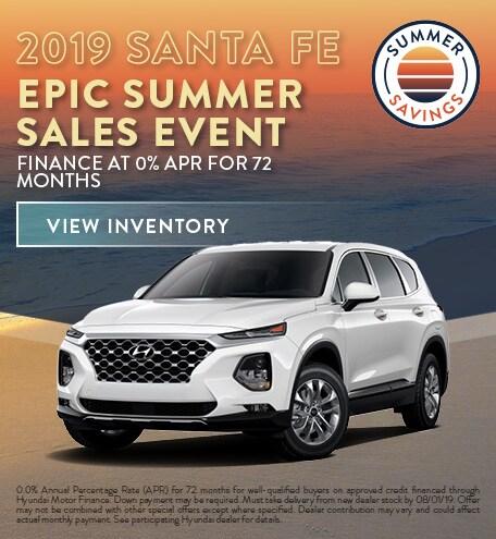 July 2019 Hyundai Santa Fe