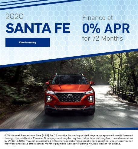September 2020 Santa Fe APR