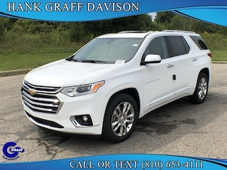 New 2019 Chevrolet Traverse High Country Utility for sale in Davison, MI