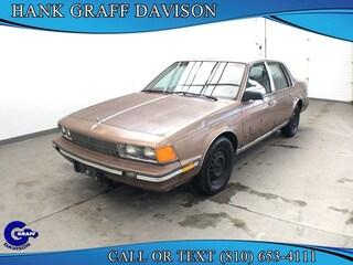 Bargain inventory 1986 Buick Century Limited Sedan for sale in Davison, MI
