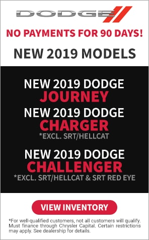 2019 Dodge - No Payments for 90 Days