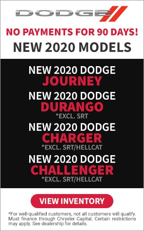 2020 Dodge - No Payments for 90 Days