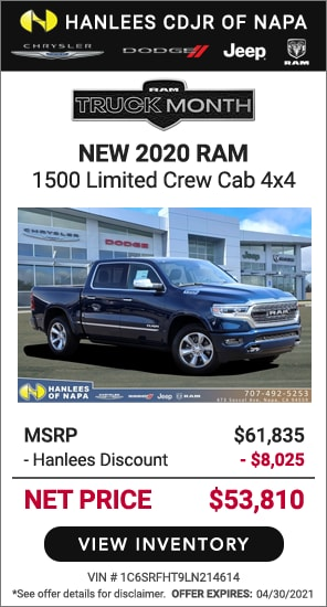 New 2020 Ram 1500 Limited Crew Cab 4x4