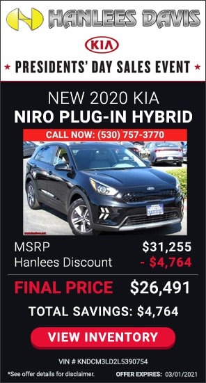 Up to $4,764 off MSRP - New 2020 Kia Niro Plug-In Hybrid LXS
