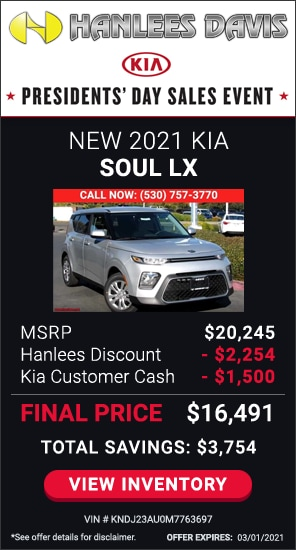 Up to $3,754 off MSRP - New 2021 Kia Soul LX