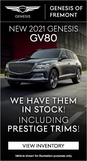 New 2021 Genesis GV80