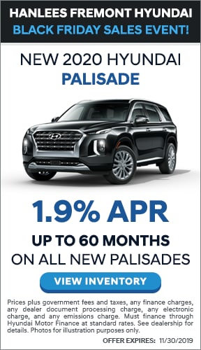 1.90% SPECIAL FINANCING ON ALL PALISADE MODELS UP TO 60 MONTHS