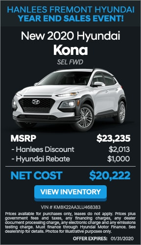 $3,013 off MSRP - New 2020 Hyundai Kona SEL FWD