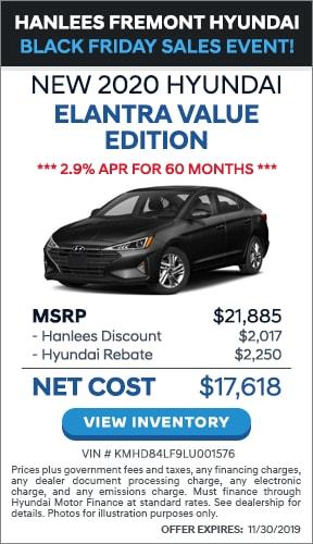 $4,267 off MSRP - New 2020 Hyundai Elantra Value Edition