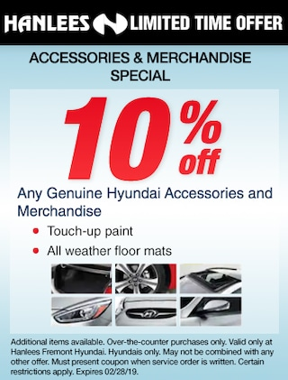 Accessories and Merchandise Special