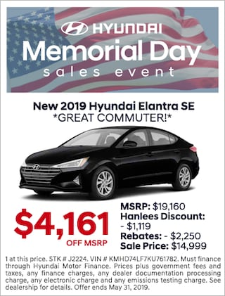 New 2019 Hyundai Elantra SE *Great Commuter!*