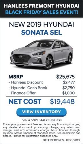 $6,227 off MSRP - New 2019 Hyundai Sonata SEL