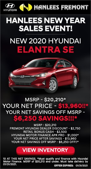 Up to $6,250 off MSRP - New 2020 Hyundai Elantra SE