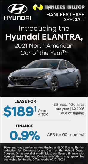 The Hyundai ELANTRA, 2021 North American Car of the Year™