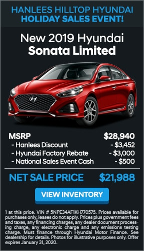 $6,952 off MSRP - New 2019 Hyundai Sonata Limited