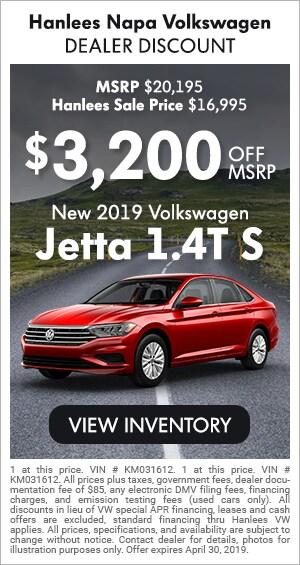 New 2019 Jetta S