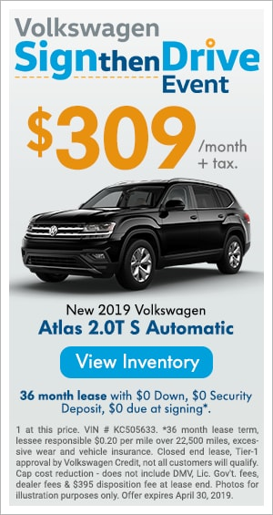 Sign Then Drive - New 2019 Atlas S