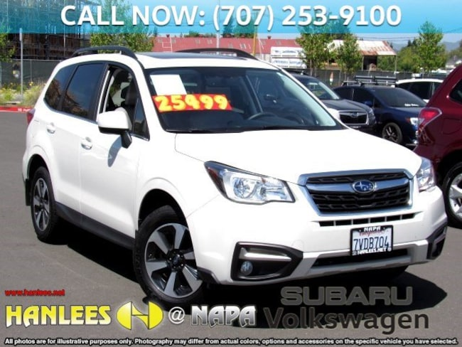 Used 2017 Subaru Forester For Sale at Hanlees Napa