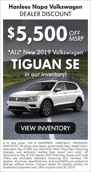 ALL New 2019 Tiguan SE