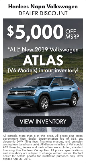 ALL New 2019 Atlas (V6 Models)