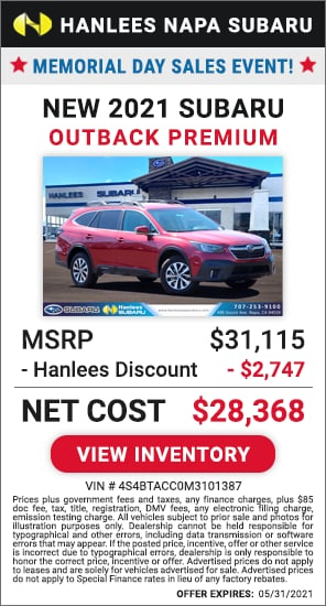 Up to $2,747 off MSRP - New 2021 Subaru Outback Premium