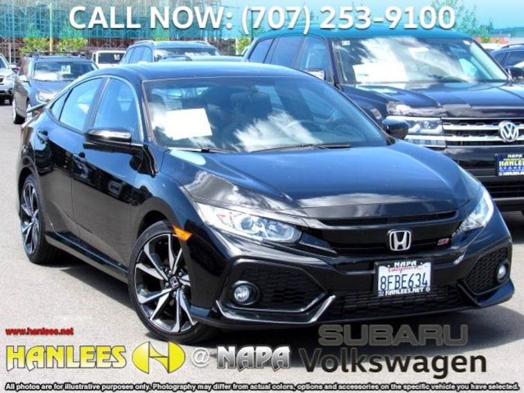 Honda Civic Si Used >> Used 2018 Honda Civic Si Sedan Si For Sale In Napa Ca Near