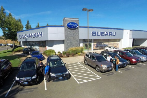 About Dick Hannah Subaru Serving Greater Portland Vancouver