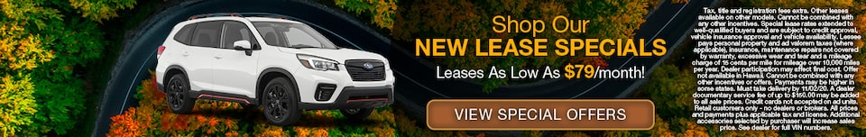Shop New Lease Specials