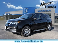 2012 Acura MDX MDX with Advance and Entertainment Packages SUV