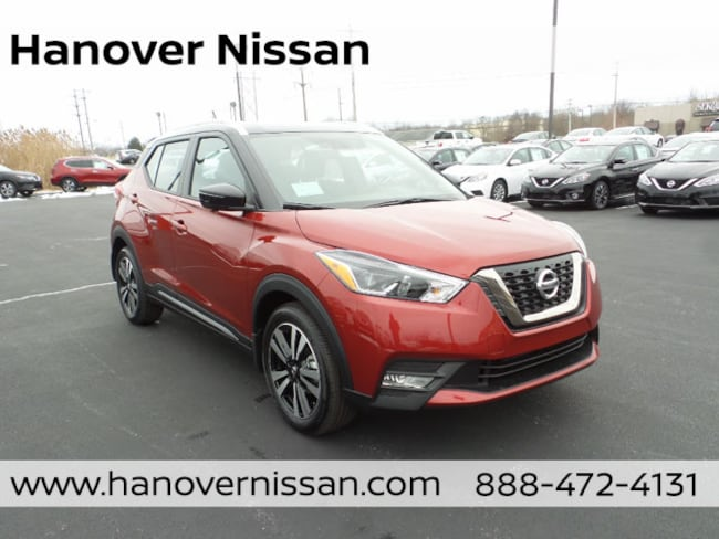 New 2019 Nissan Kicks SR SUV Hanover PA