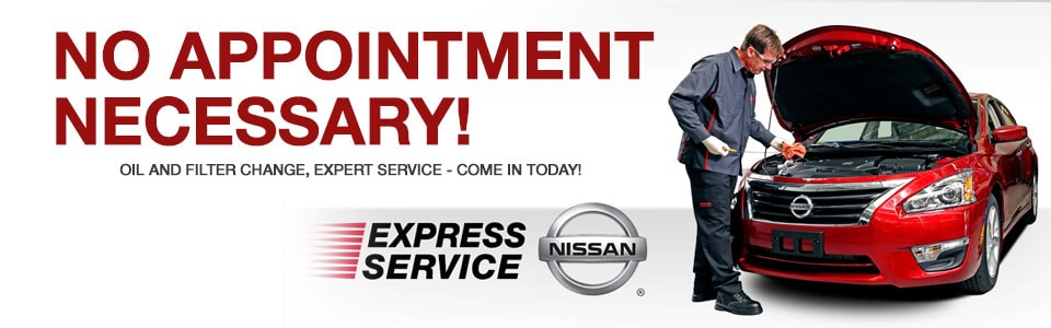 Our Nissan Express Service Is Dedicated To Providing Basic Service Needs  While Balancing Convenience, Price, And Timeliness.
