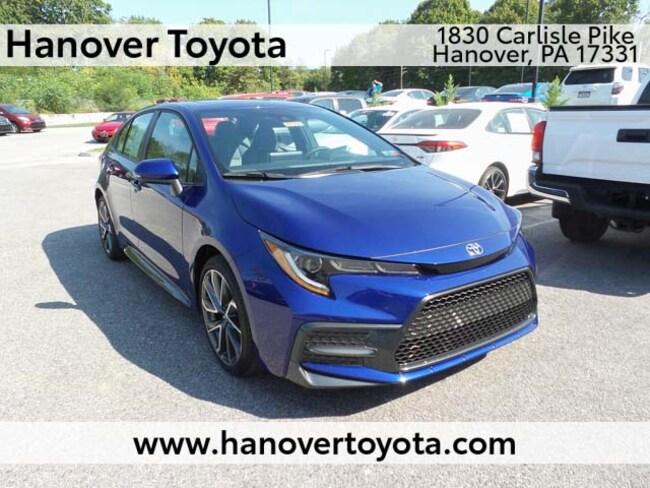 New 2020 Toyota Corolla SE Sedan Hanover PA