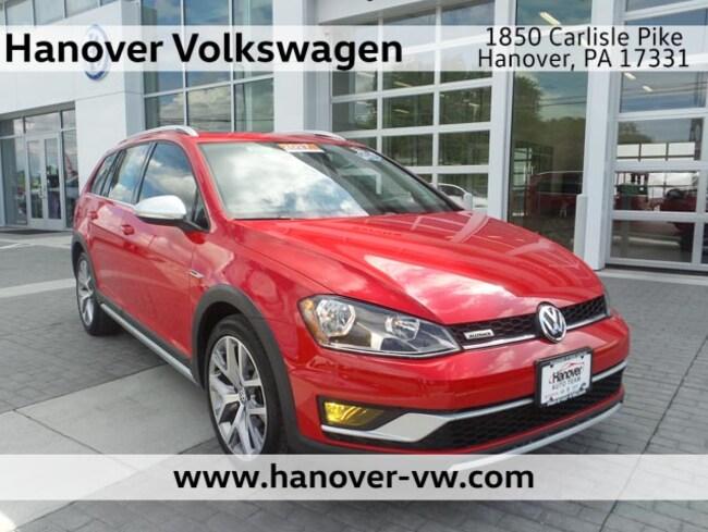 2017 Volkswagen Golf Alltrack SEL Wagon