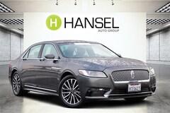 Used 2018 Lincoln Continental Select Sedan For Sale in Santa Rosa