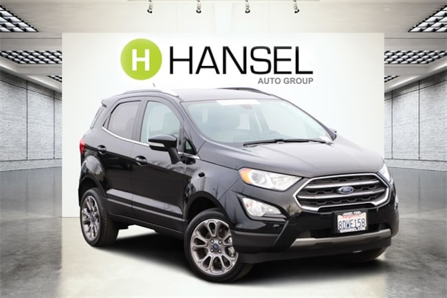 Certified Pre-Owned 2018 Ford EcoSport Titanium SUV For Sale in Pelatuma, CA