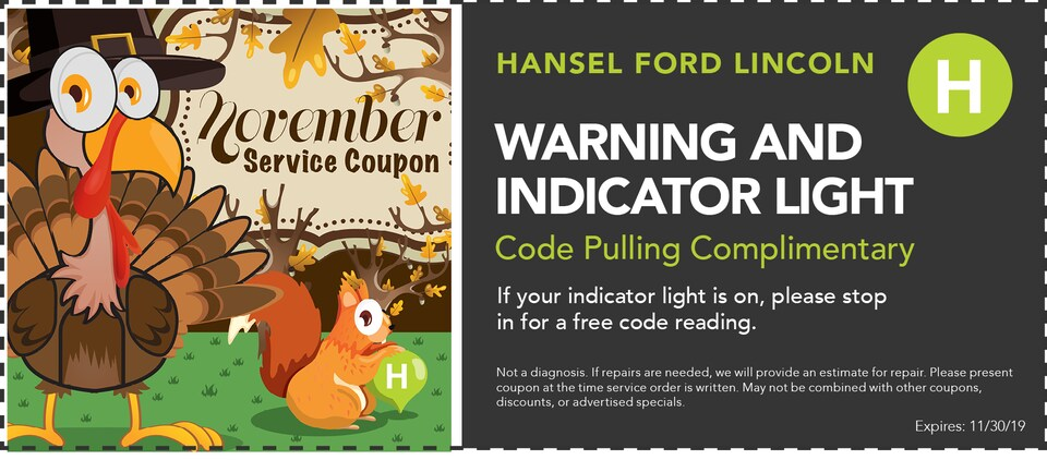 Warning and Indicator Light Specials