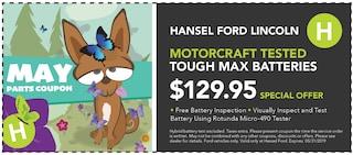 Motorcraft Tested Tough Max Batteries