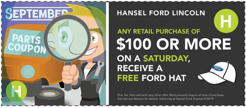 Free Ford Hat